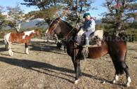 Pequeña Argentina a caballo
