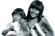 Seknams children in Tierra del fuego