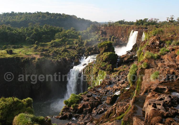 Panorama sur un des 275 sauts d'Iguaçu