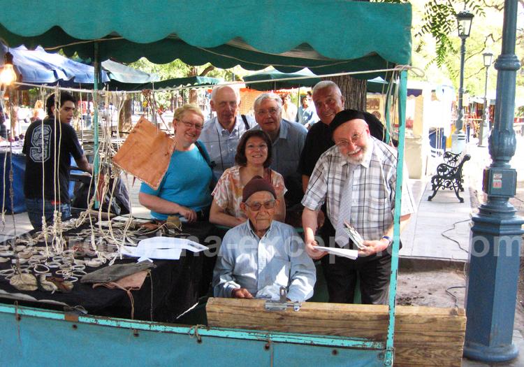 Le groupe Cleo retrouve Juan Garcia à Mendoza, 2009