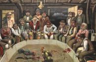 combat de coqs argentine