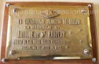 commemoration st exupery aeroport trelew