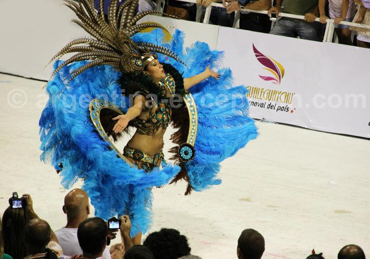 Comparsa au Carnaval de Gualeguaychú