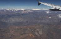 Cordillère des Andes entre Copiapo et Santiago