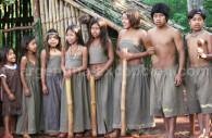 Chorus of guarani children