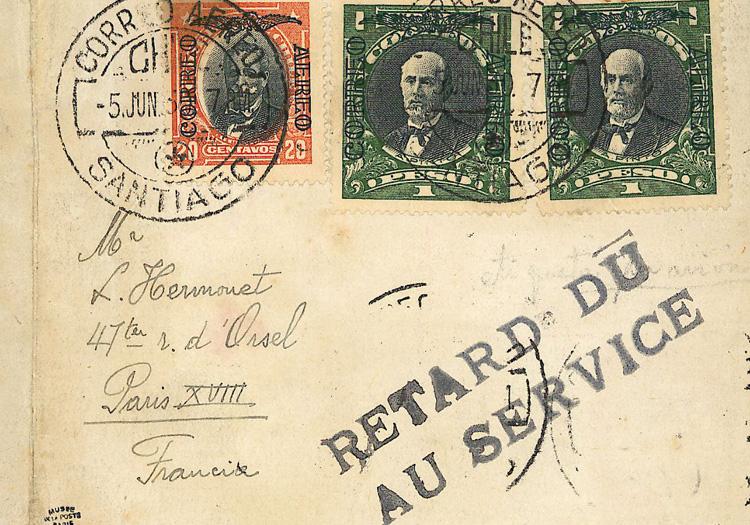 Correspondance de Santiago du Chili du 5 juin 1930
