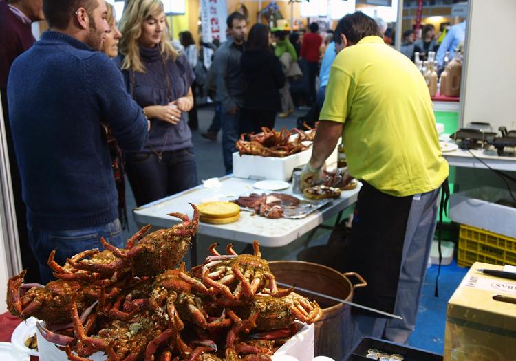 Crabe royal de Patagonie. Credit Flickr Ukis