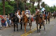 Défile des gauchos fete de Mendoza