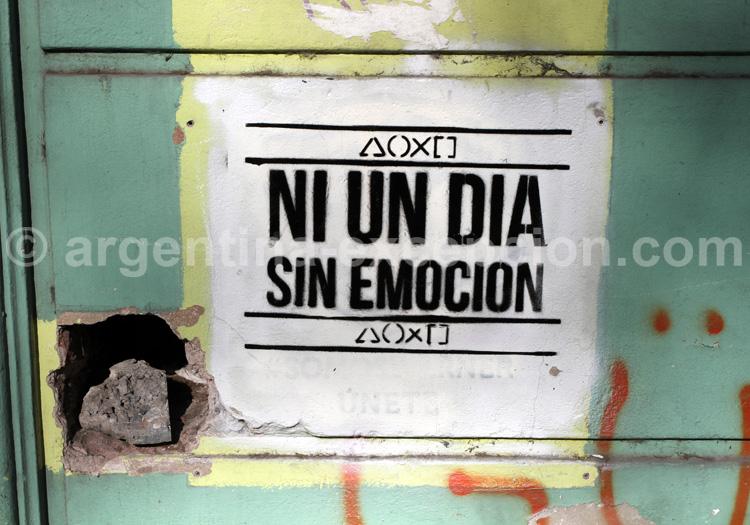 La dérision sur les murs de Buenos Aires