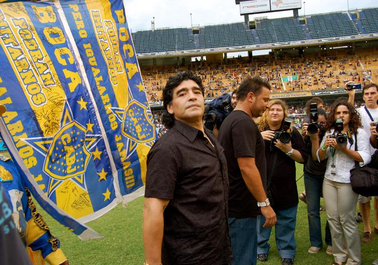 Diego Maradona - Licence CC Flickr/Joelr