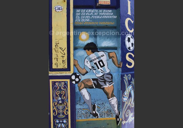 Diego, idole argentine