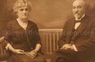 Don Celestino Curutchet & Dona Artcanthurry, 1912, Café Tortoni