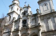 La Manzana de Las luces Eglise de San Ignacio Monserrat