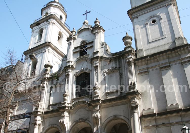 La Manzana de Las luces et l'Eglise de San Ignacio, Monserrat