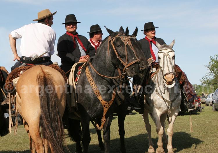 Equipements gauchos, Argentine