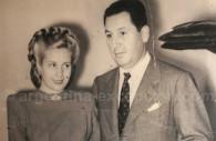 Eva et Juan Perón