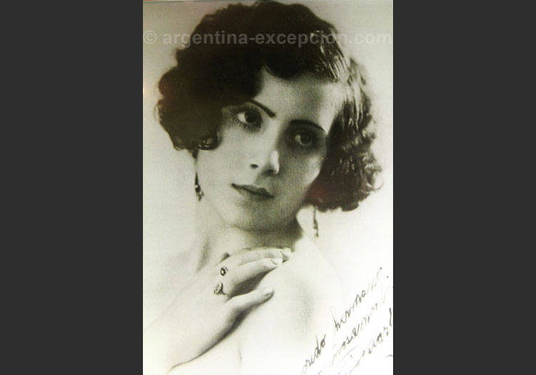 Eva Perón, musée Evita de Buenos Aires