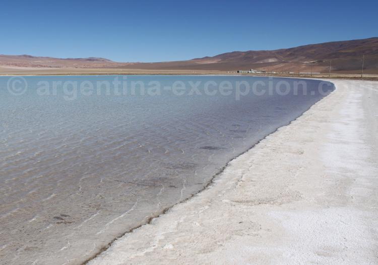 Extraction du lithium, salar del Hombre Muerto