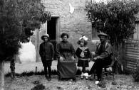 Familia italiana en Argentina