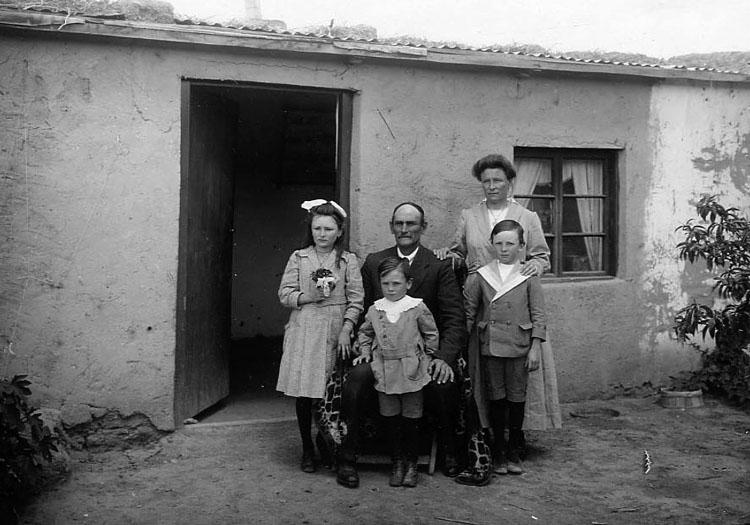 Famille galloise 1924