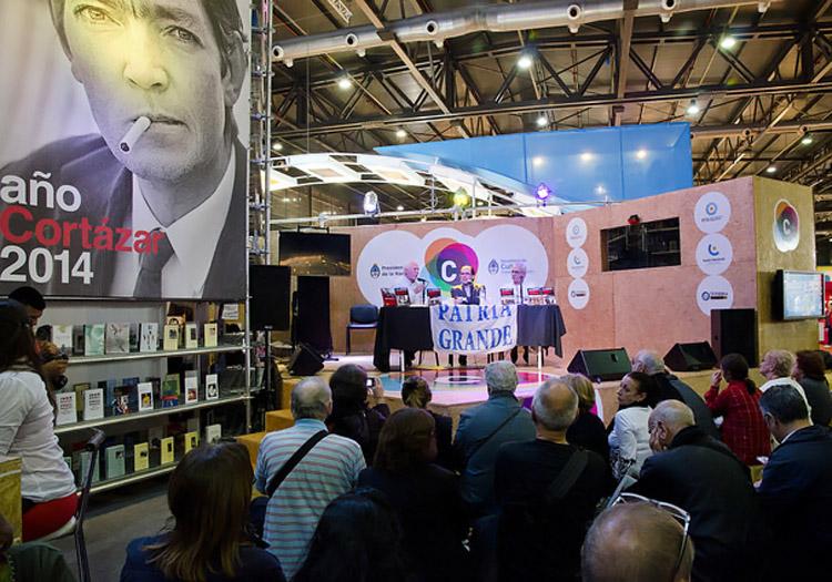 Feria de los libros-La Rural Crédits Flickr CC Ministerio de la Cultura de la Nación