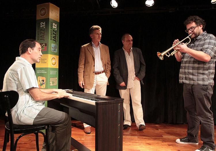 Festival de jazz Macri Crédits Flickr CC-GCBA