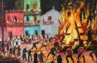 Feu de la Saint-Jean Quinquela Martín