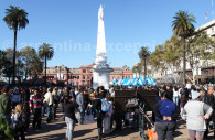 Fiesta del bicentenario argentino