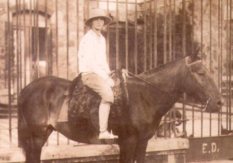 Madame Fuchs Valon en 1930