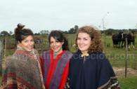 Elegance of gauchitas in the pampa