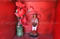 Fleurs pour le Gauchito Gil