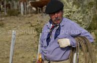 un gaucho et son lasso argentine