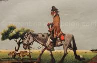Gaucho, pintado por Molina Campos