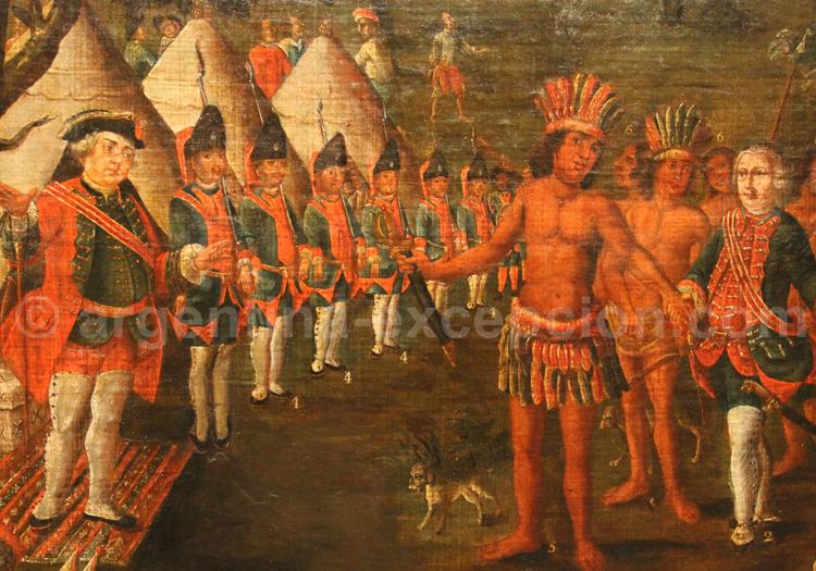 G. Matorras, pacificateur du Gran Chaco. MHN, Buenos Aires