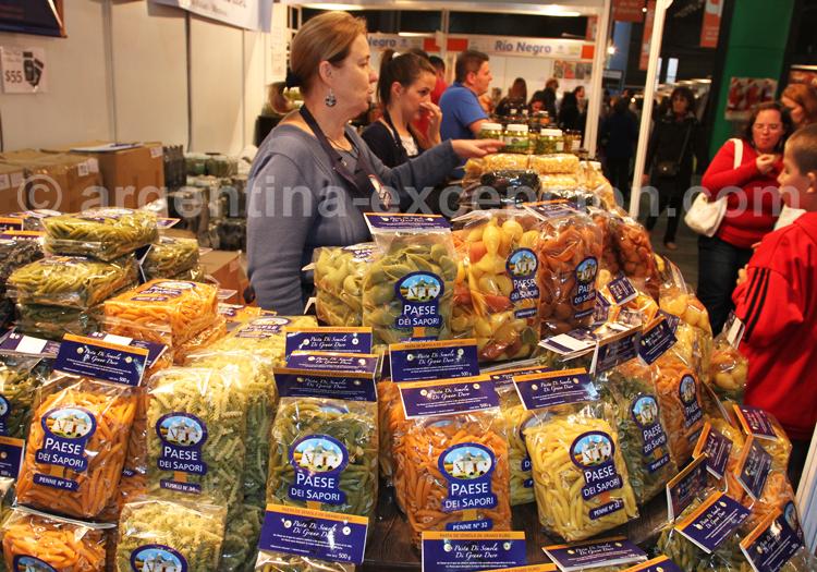 Gnocchis et pâtes, Argentine