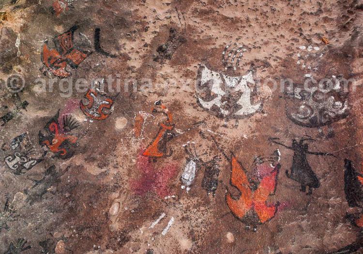 Guachipas, Cerro de Las Cuevas Pintadas, Art rupestre, Salta