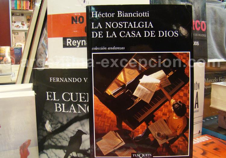 Hector Bianchiotti, La Nostalgie de la maison de Dieu (2003)