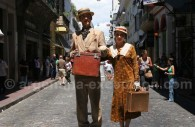 Immigrants in La Boca, Buenos Aires