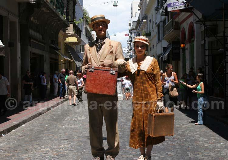 Immigrés dans le quartier de La Boca, Argentine
