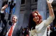 Nestor et Cristina Kirchner