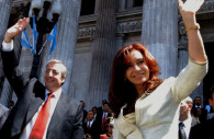 Nestor and Cristina Kirchner - CC Facebook