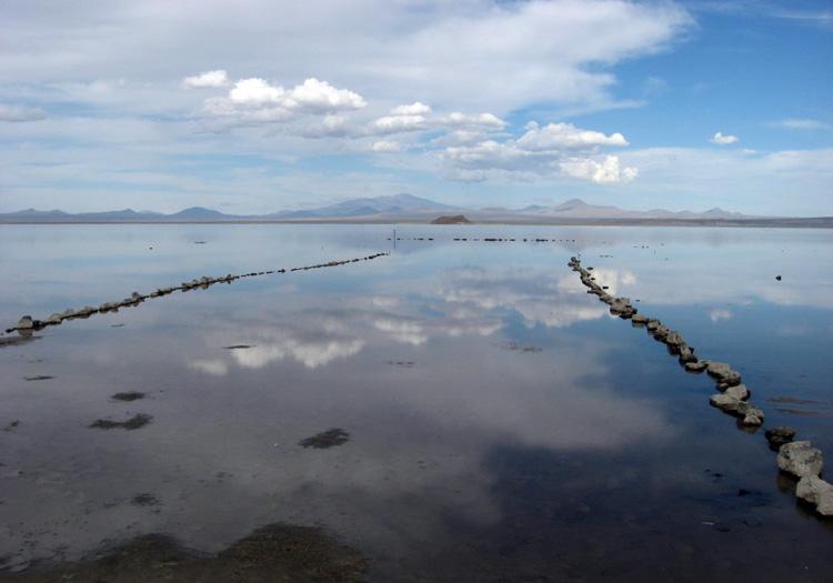 Laguna Llancanelo. Crédit CC Flickr NUCO