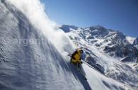 cerro las lenas mendoza ski argentine