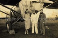 Foto delante del Laté 25 - Archivos G. Pellaton