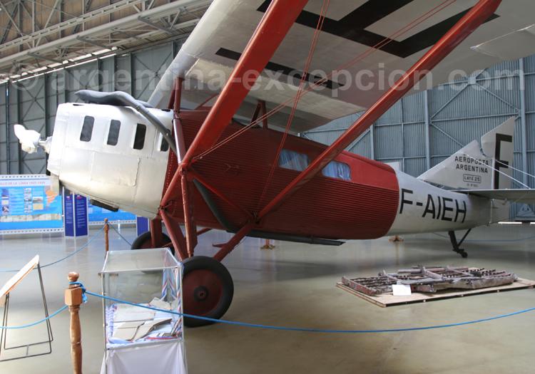 Laté 28 au musée national aéronautique Morón