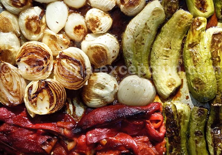 Légumes à la parilla