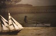 Llegada de los primeros colonizadores - Centro Cultural Recoleta, Zulema Maza