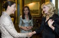 Rencontre entre Madonna Betancourt et Kirchner
