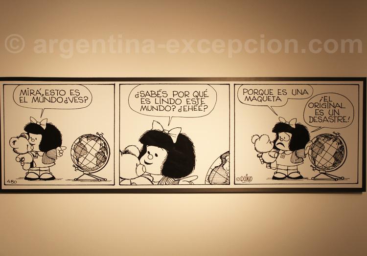 Mafalda, Musée de l'Humour