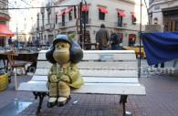 Statue of Mafalda in San Telmo